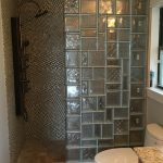 Glass Block Shower Wall Designs
