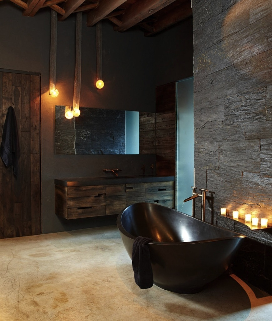 5 Fantastic Industrial Bathroom Design Ideas