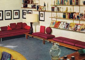 Vintage1950s Living Room Decor