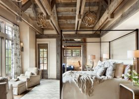 Rustic Master Bedroom Interior Design Ideas