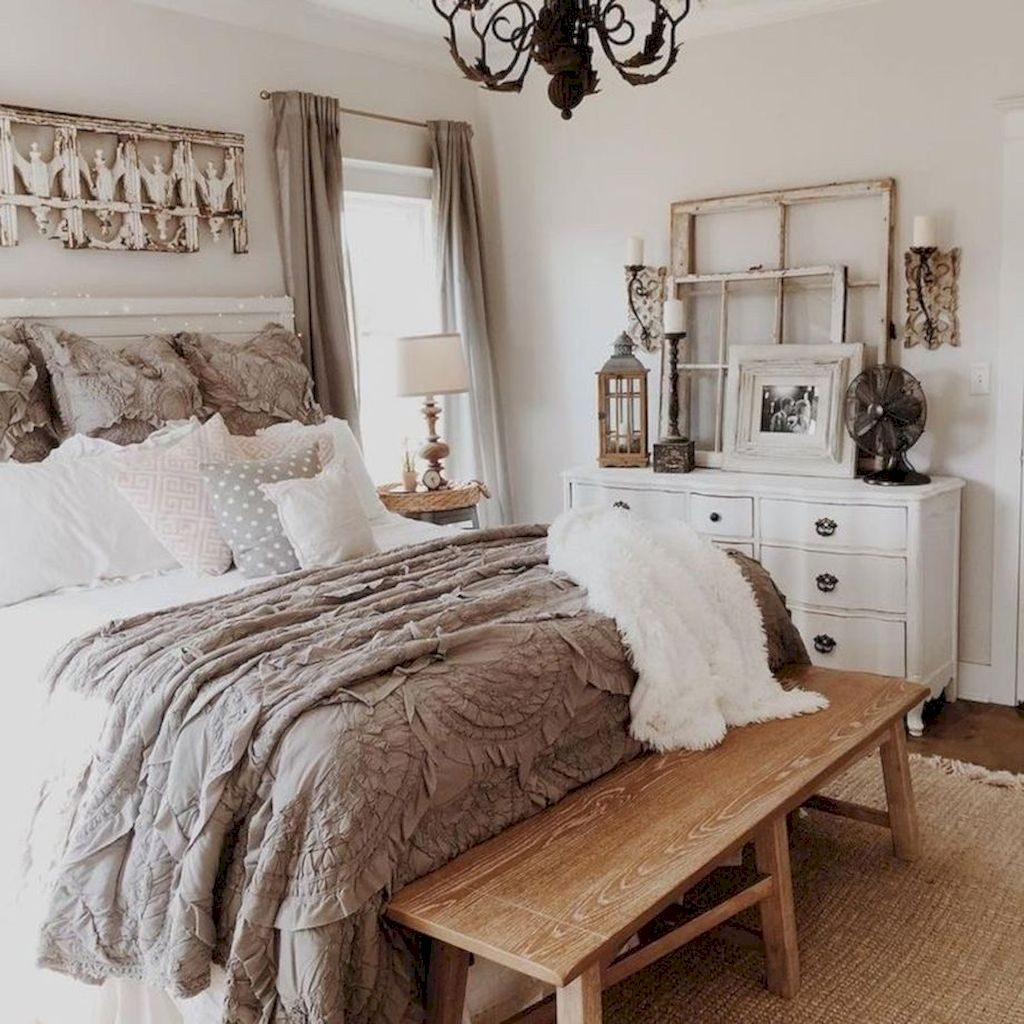 70 Modern Rustic Farmhouse Master Bedroom Ideas Wholiving For