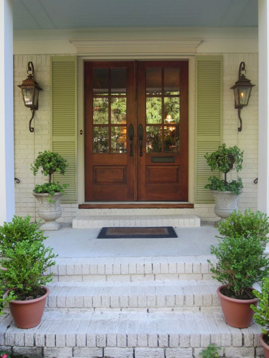 90 Awesome Front Door Farmhouse Entrance Decor Ideas 76 In 2019