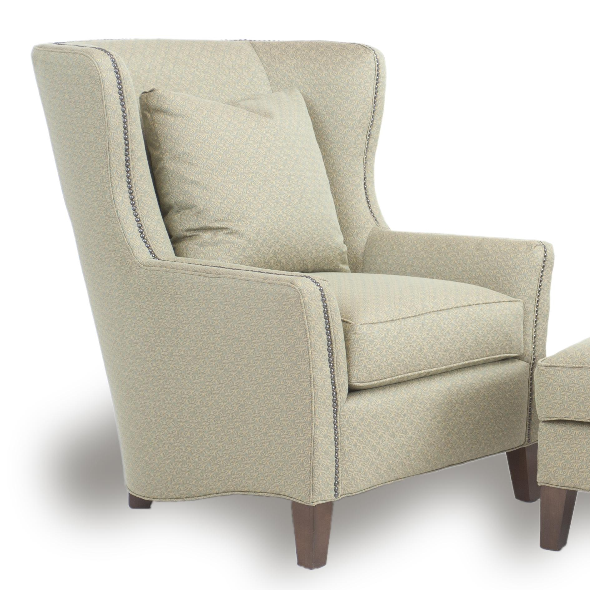 Accent Chair Best Upholstery Wingback Design And Comfy Queen Anne