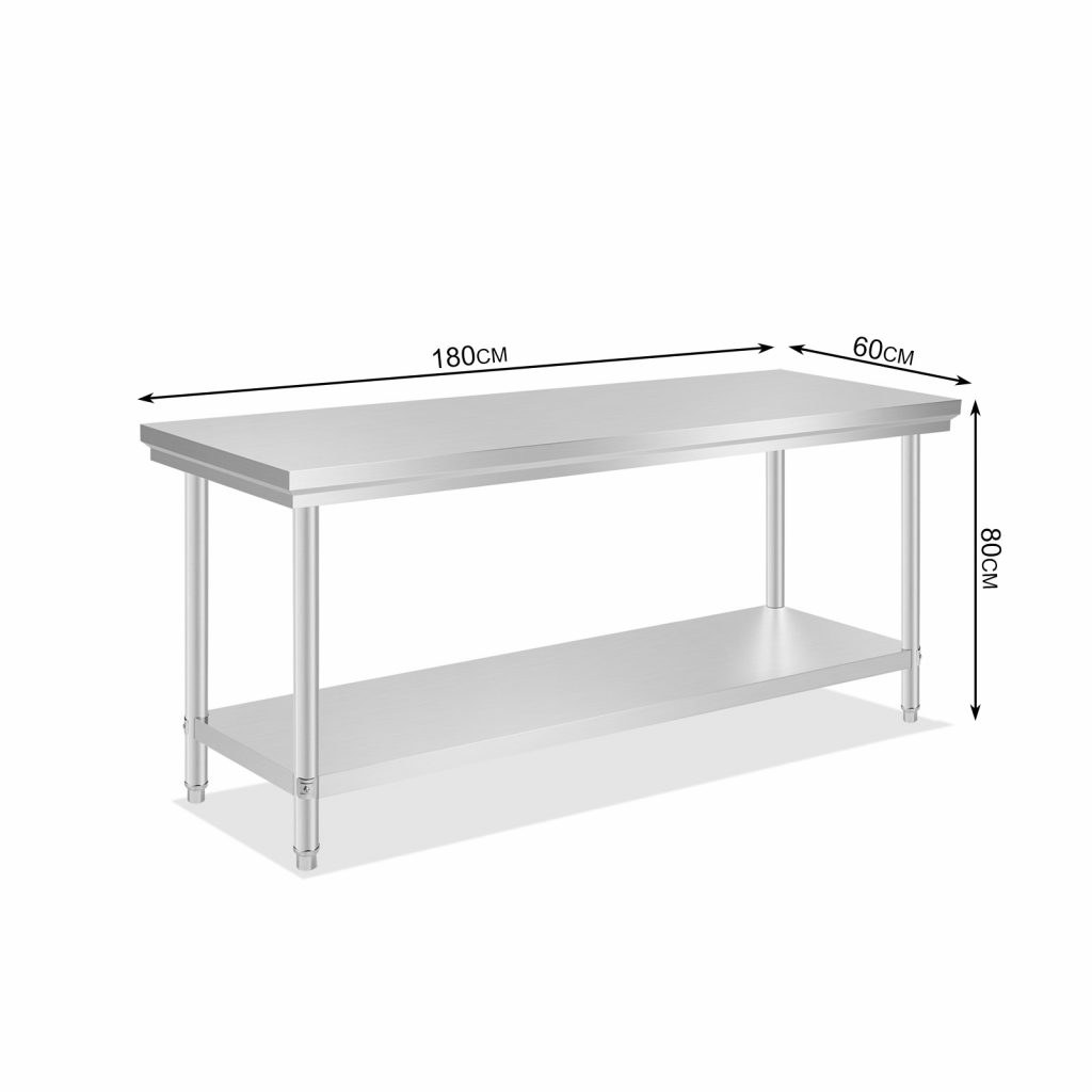 All Size Commercial Stainless Steel Kitchen Work Bench Food Prep