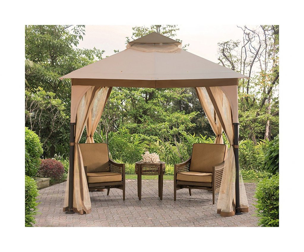 Amazon Sunjoy Replacement Canopy Set For Bardine Gazebo Garden