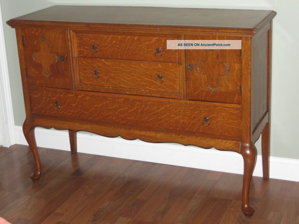 Antique Buffet Value Antique Tiger Oak Sideboard Buffet Server