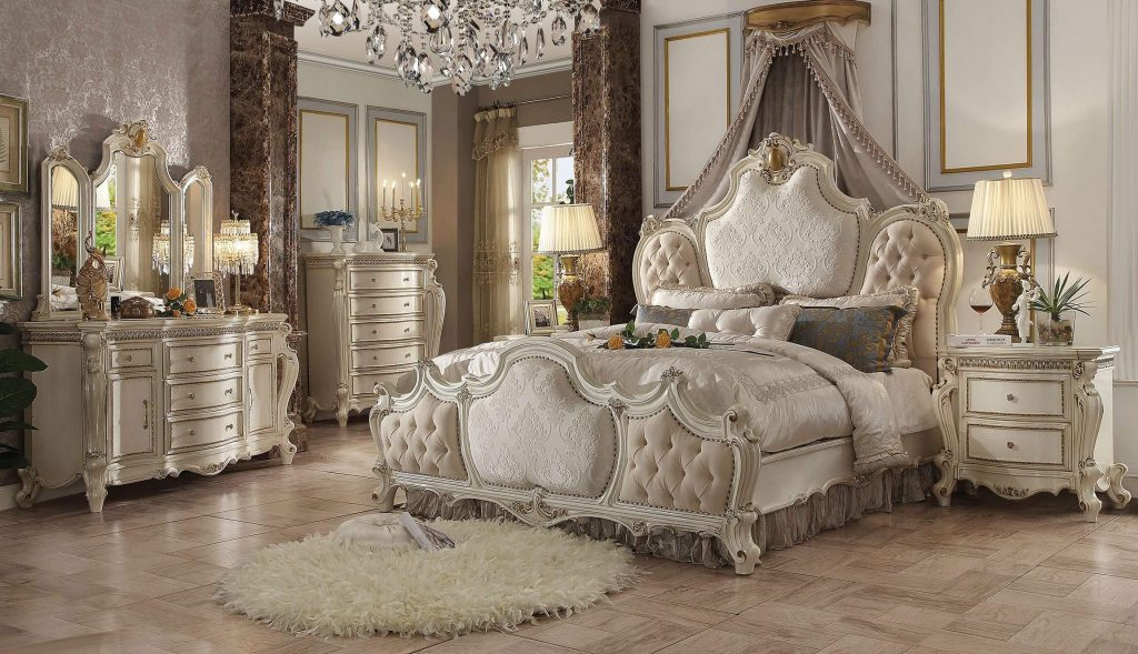 Antique White Bedroom Set At Bedroom Furniture Discounts