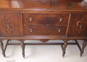 Vintage Antique Buffet Sideboard