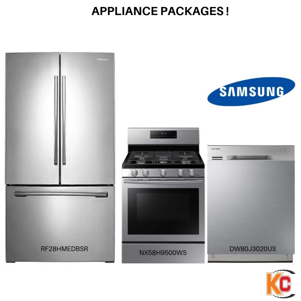 Appliance Packages In Stainless Steel