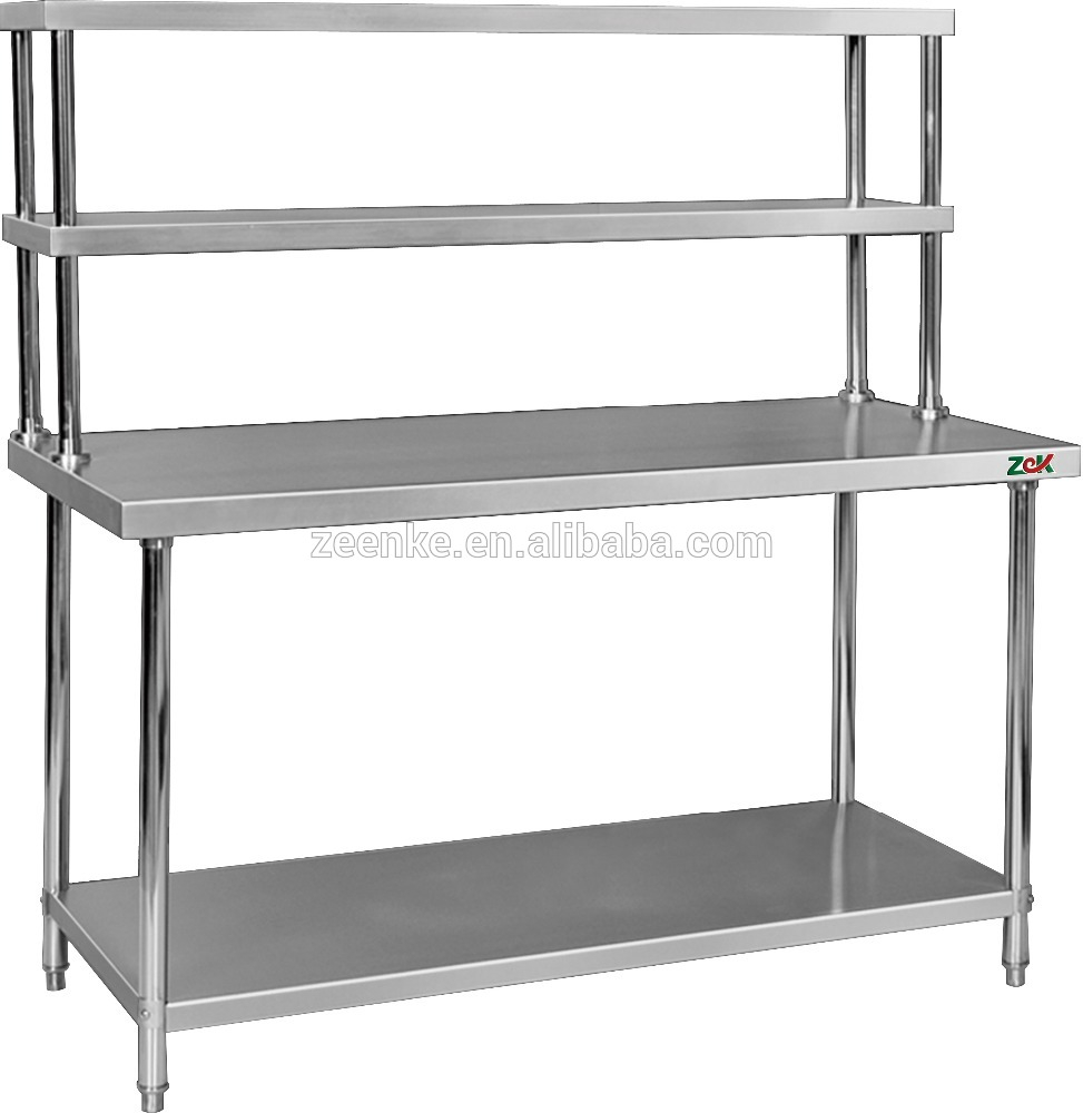 Assembly 2 Tier Kitchen Work Table Stainless Steel Kitchen