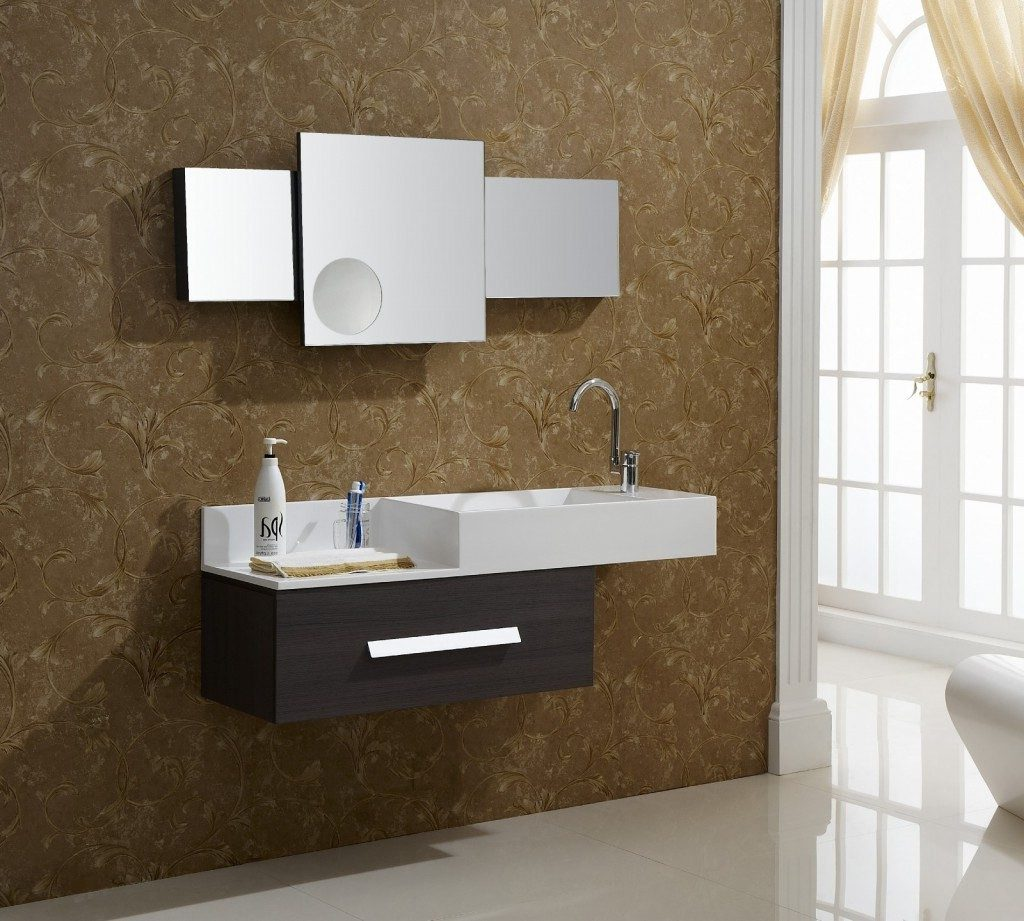 Asymmetric Floating Bathroom Vanities Mavalsanca Bathroom Ideas