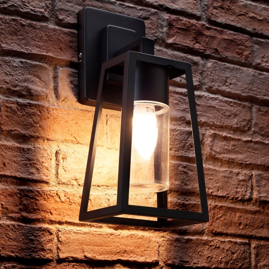 Auraglow Outdoor Hanging Lantern Wall Light Blisworth Auraglow