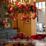 Pinterest Christmas Decorating Dining Room Chandelier