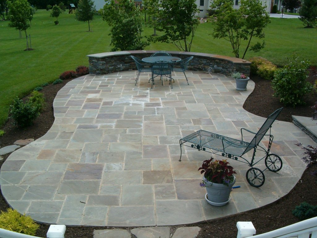 Awesome Stone Patios Awesome Ideas Awesome Stone Patio Designs With