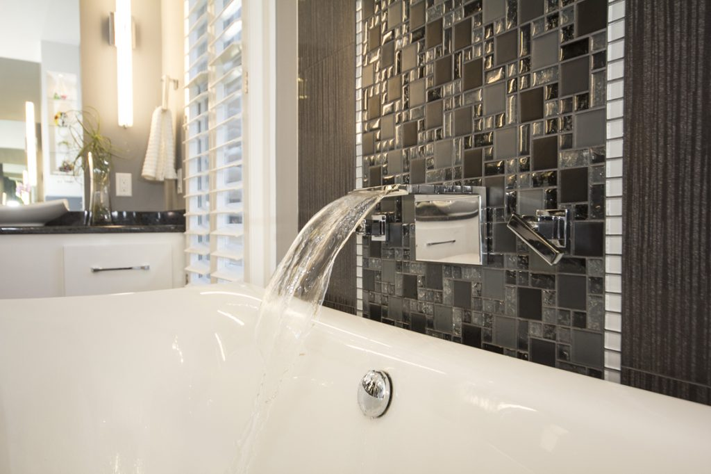B Chic Interiors Portfolio Addition Stunning Luxury Master Bath