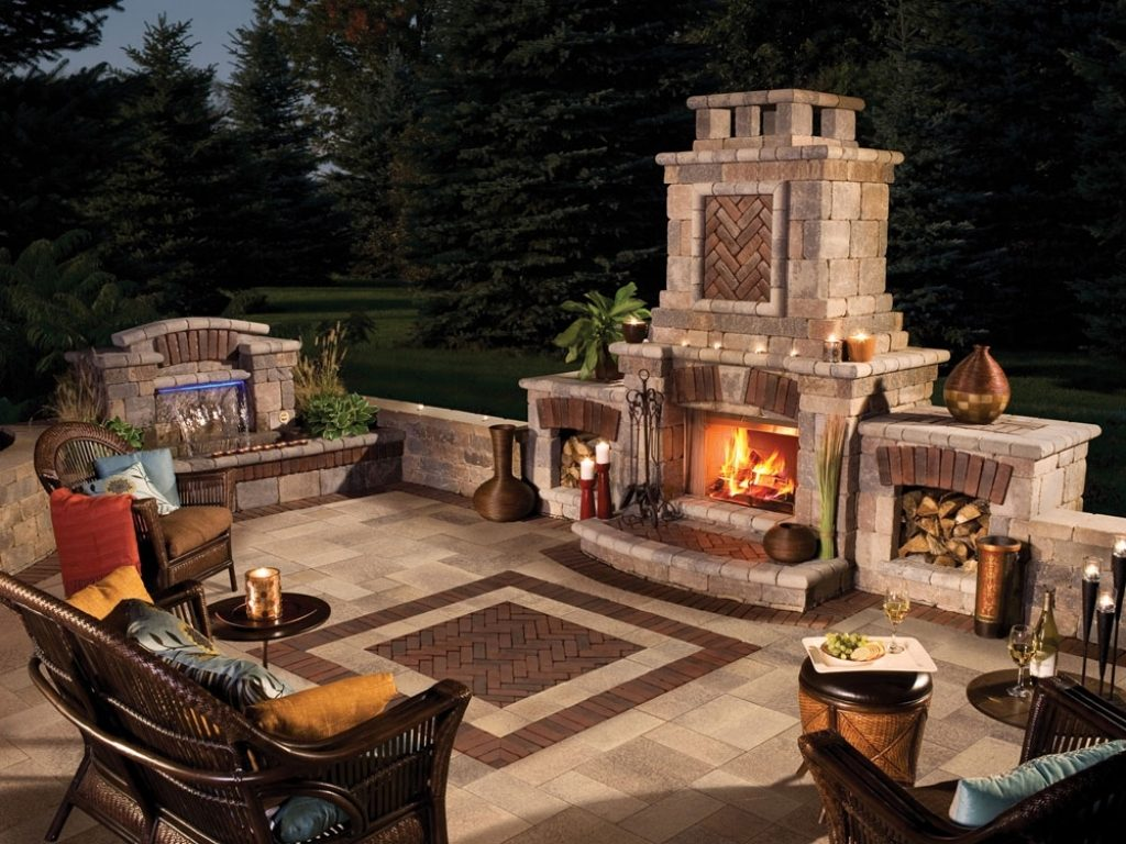 Backyard Fireplace Designs Outdoor Fireplace Design Fireplace Ideas
