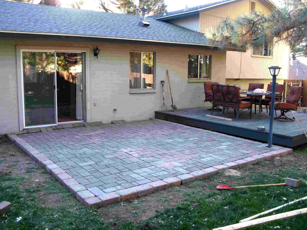 Backyard Paver Patio Ideas Thefoxy Blog