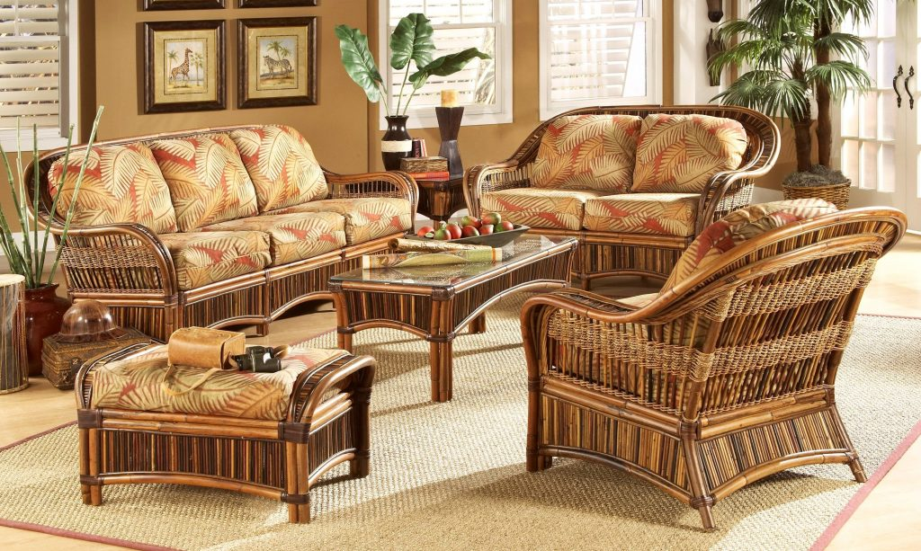Bamboo Rattan Living Room Furniture China Arelisapril