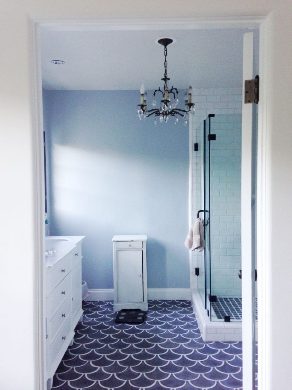 Bathroom Blue Tile Floor Bathroom 37 Small Blue Bathroom Tiles Ideas