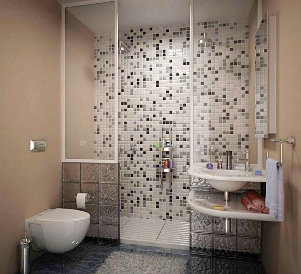 Bathroom Tile Designs For Glass And Metal Safe Home Inspiration