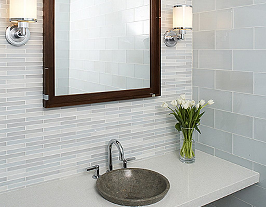 Bathroom Tile Ideas Glass Material Innovation Aricherlife Home Decor