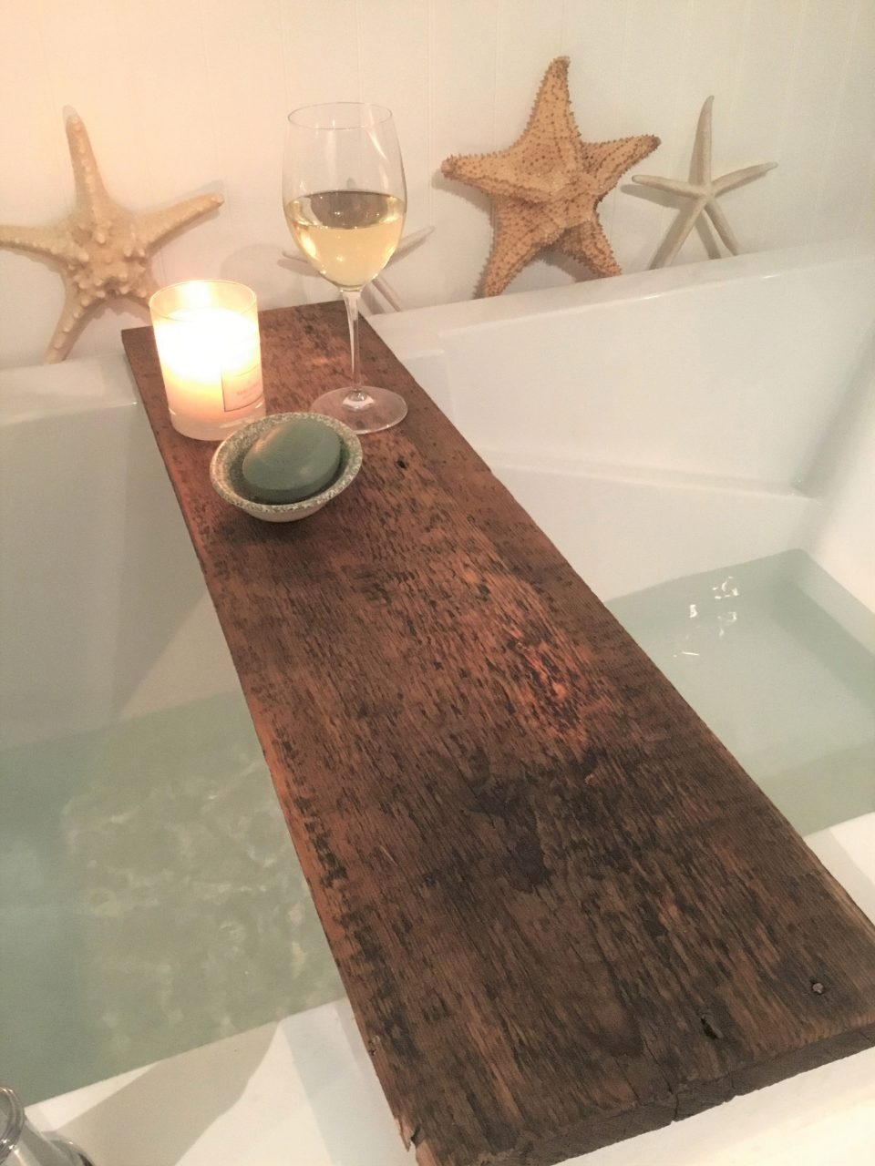 Bathtub Tray Bathroom Decor And Accessories Custom Made To Etsy