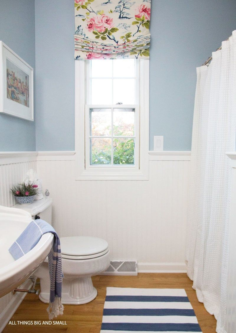 Beadboard Bathroom How To Step Step All Things Big And Small