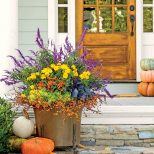 Beautiful Fall Planter Combination Fall Decorating Ideas