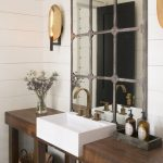 Rustic Industrial Bathroom Design