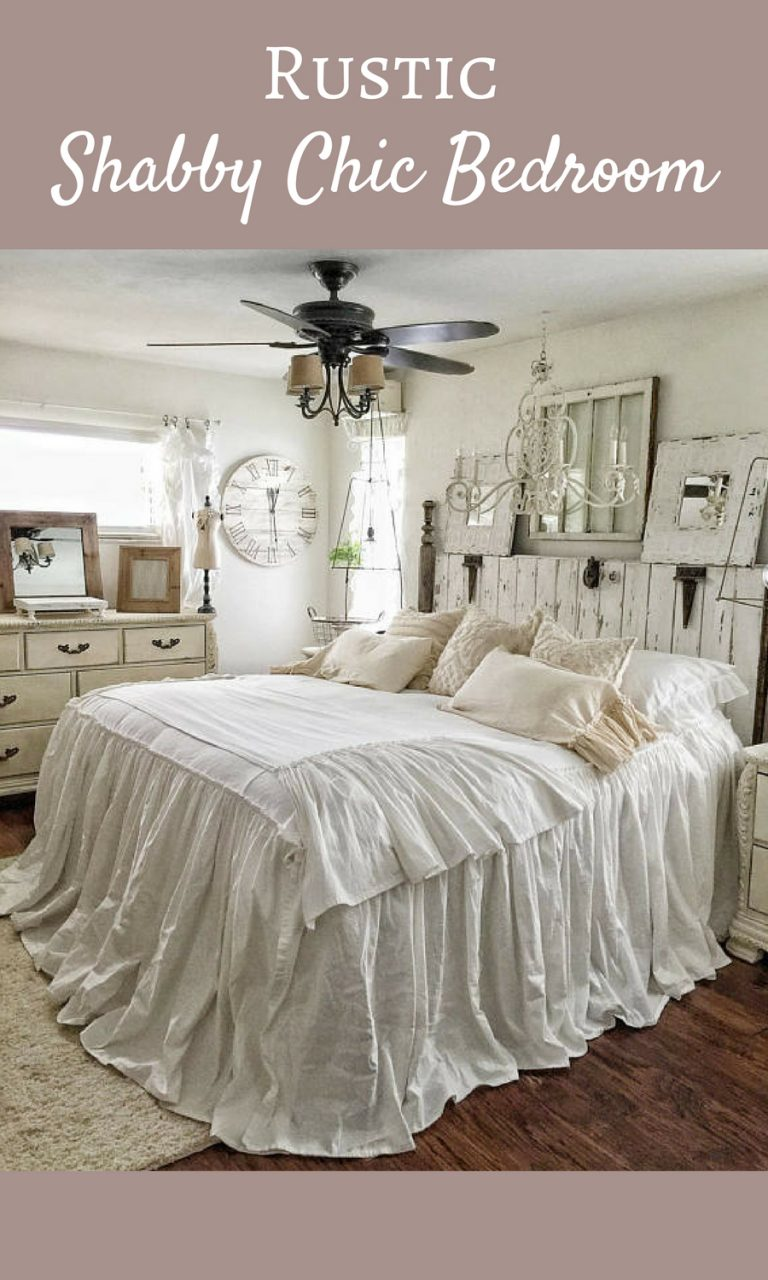 Beautiful Shab Chic Farmhouse Bedroom This Is Absolutely Amazing