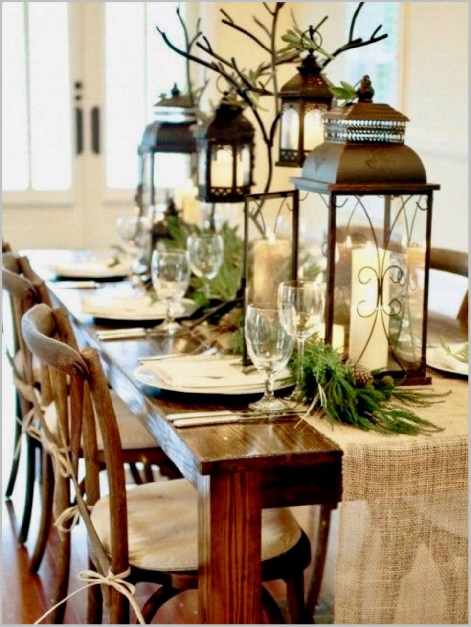 Beautifull Dining Table Christmas Decorating Ideas Crochdorch