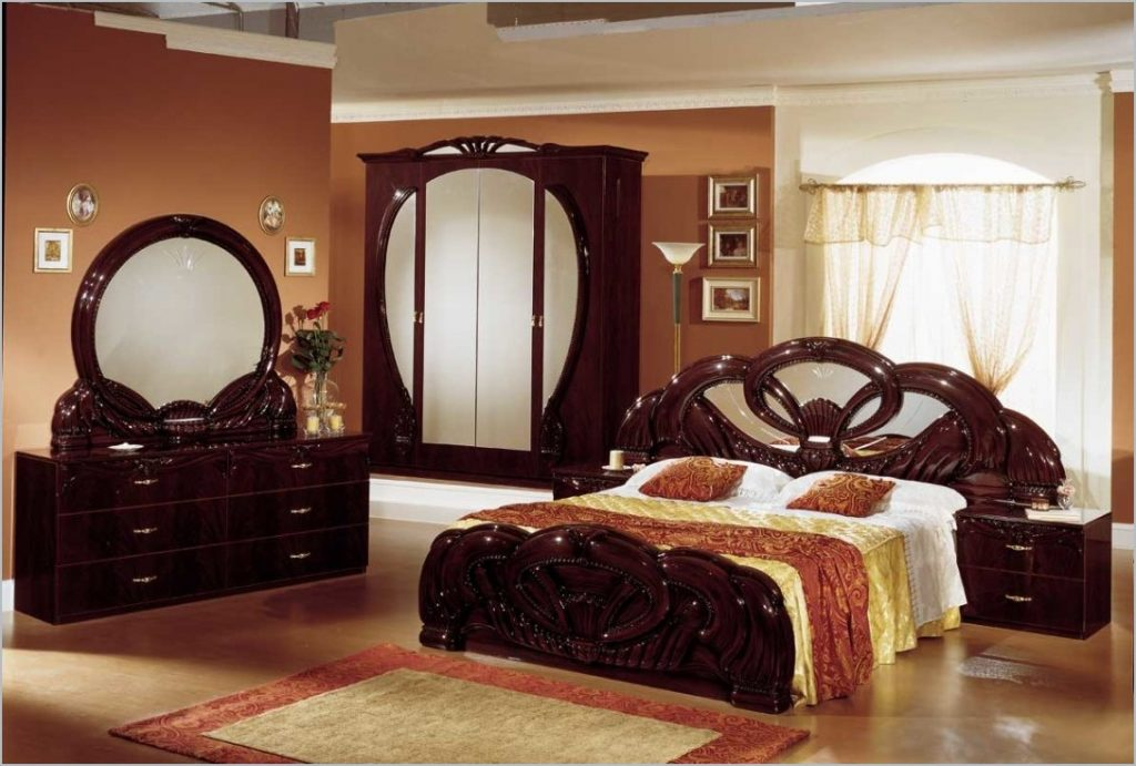 Bed Indian Style Bedroom Furniture