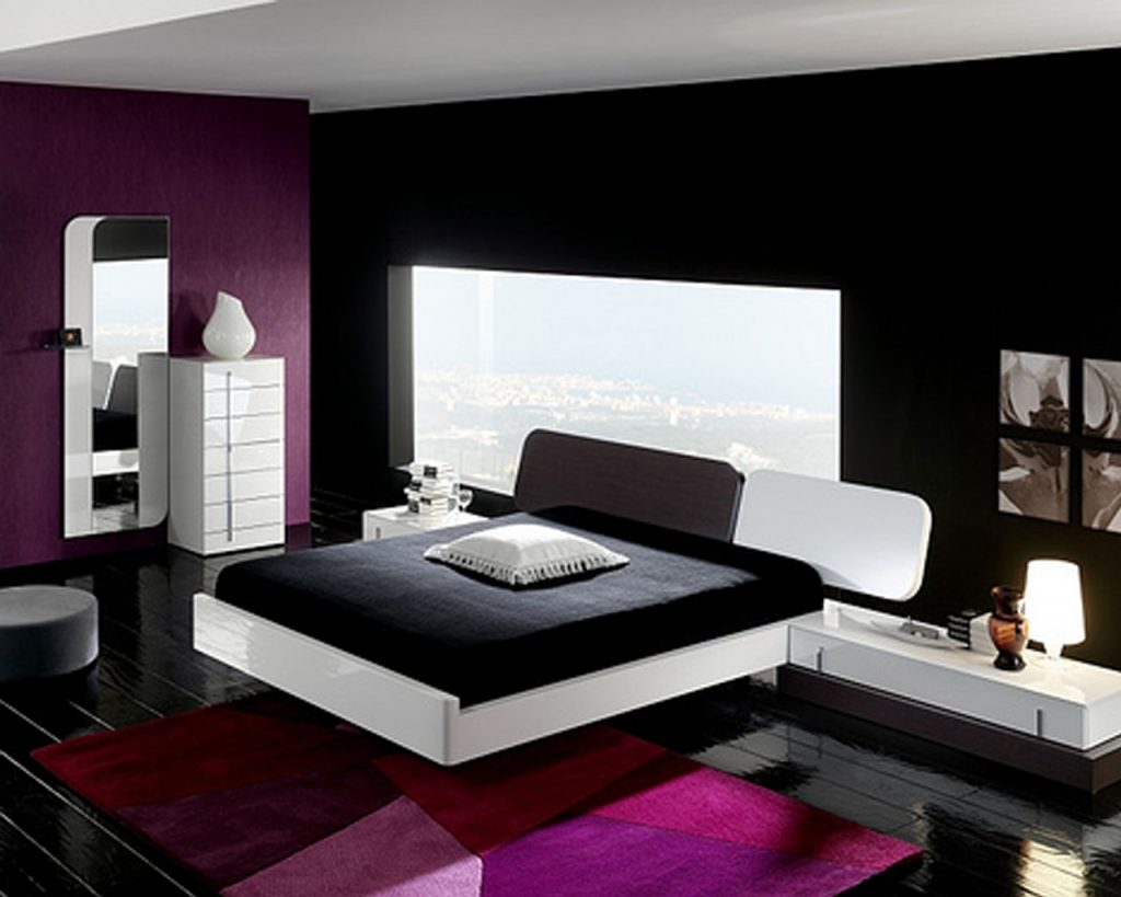 Bedroom Black White And Pink Decor Inspiration Ideas Home Design