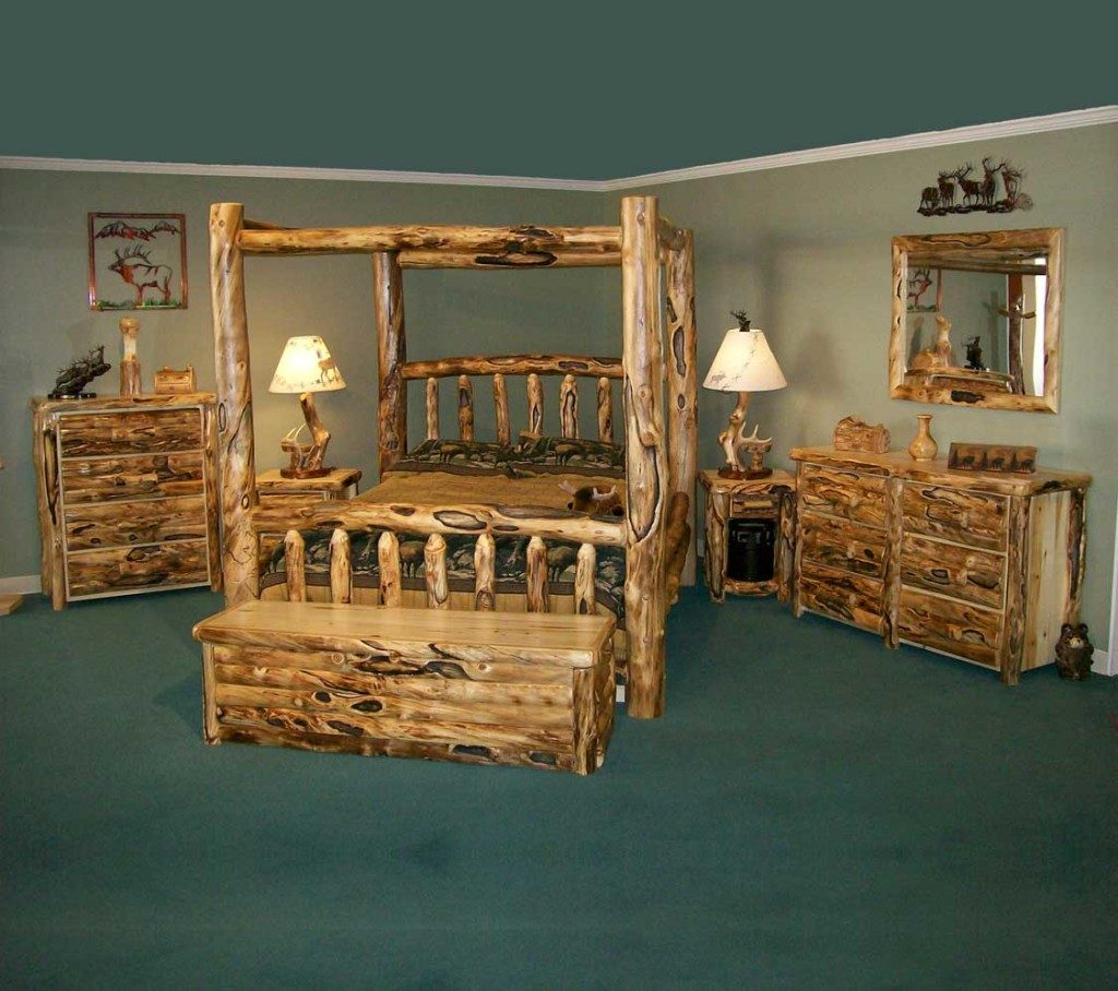 Bedroom Log Style Bedroom Sets Rustic Brown Bedroom Furniture Rustic