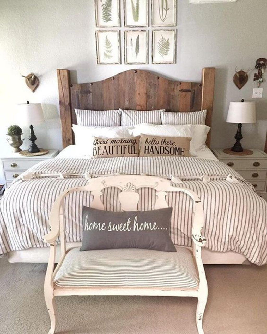 Bedroom Rustic Farmhouse Bedroom Decor 25 Cozy And Stylish