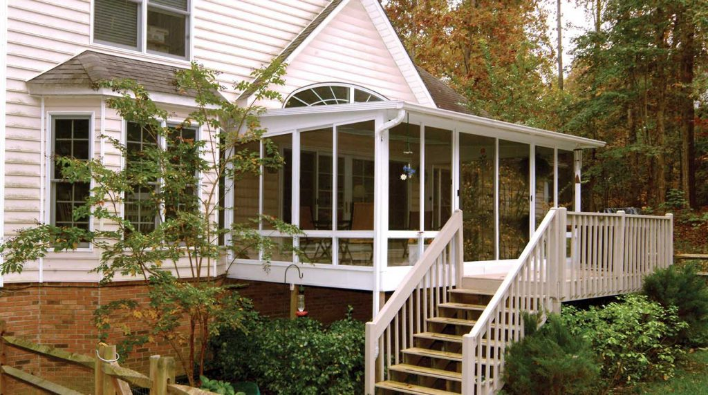 Before After Sunroom Pictures Patio Enclosures Projects