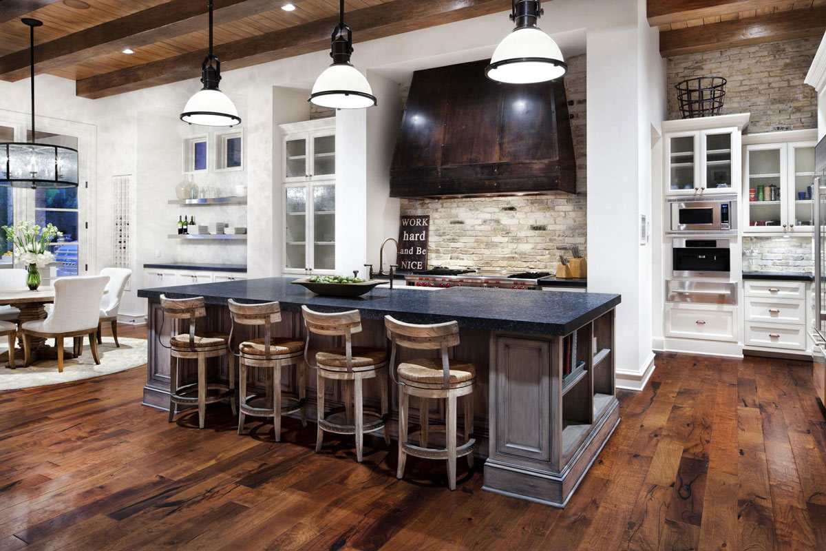 Best Farmhouse Country Kitchen Island With Big Islands Also Layjao