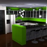 Black And Green Kitchen Ideas My Web Value
