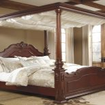 Black Gothic Canopy Bed Sourcelysis Special Victorian Gothic