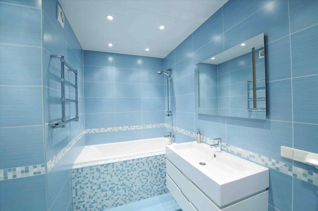 Blue Bathroom Tiles Ideas Onescene