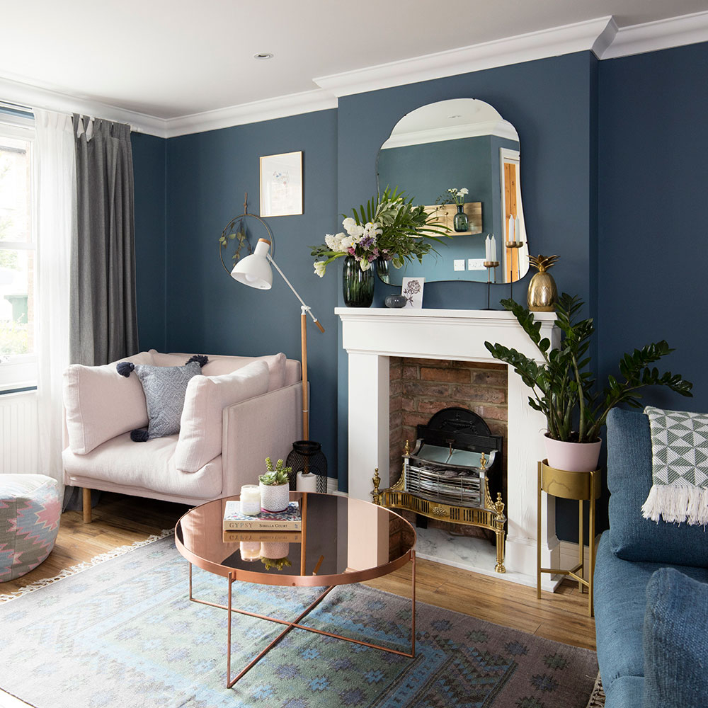 Blue Living Room Ideas From Midnight To Duck Egg See How