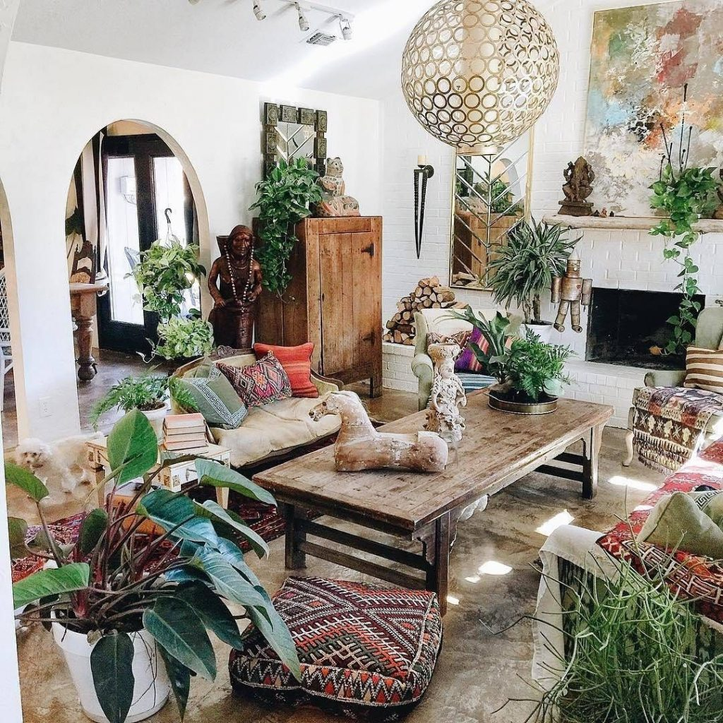 Boho Plant Styling Garden Living Room Home Decor Home Decor