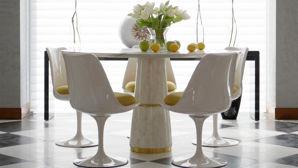 Brabbu Agra Dining Table Buy Online At Luxdeco