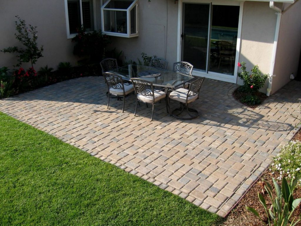 Brick Paver Patio Designs New Small Patio Paver Ideas Home Design