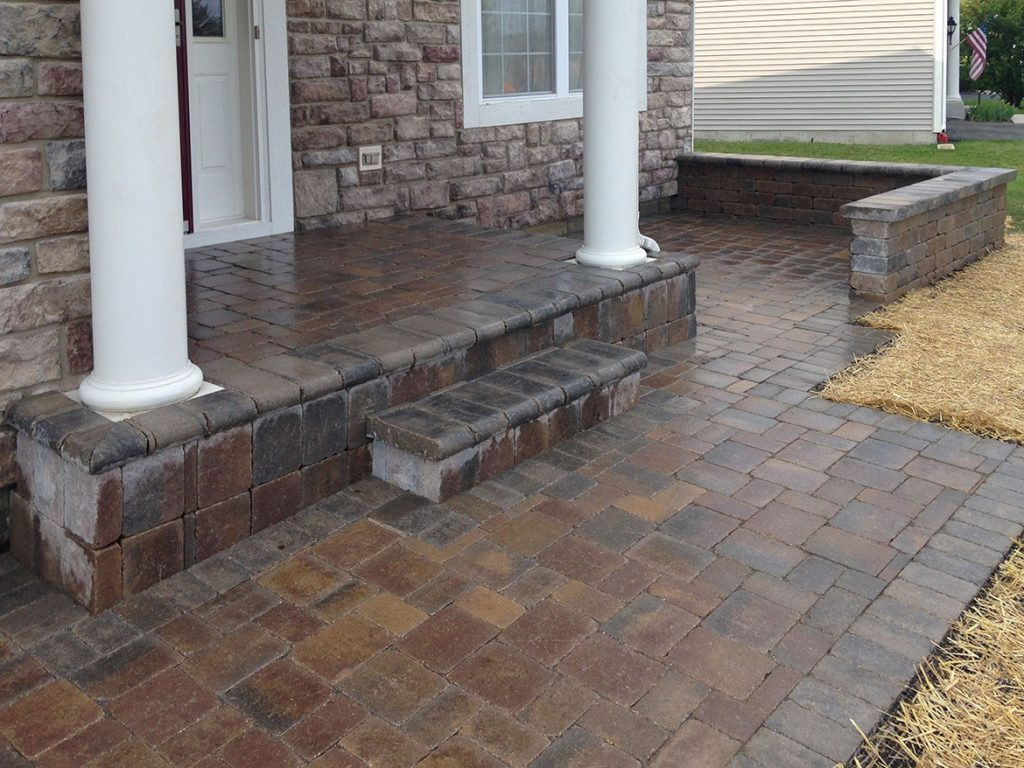 Brick Paver Patio In Round Lake Landscaping And Hardscaping Brick
