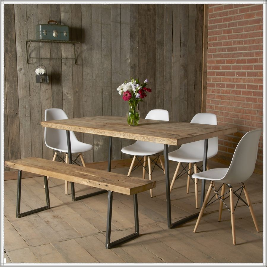 Brooklyn Modern Rustic Reclaimed Wood Dining Table Home Modern