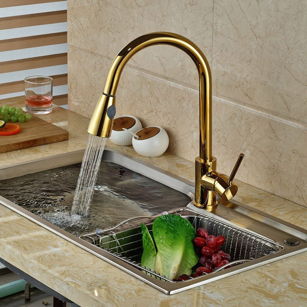 Broward Mounted Kitchen Faucet Gold In 2019 Kitchen Kitchen