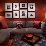 Brown Red Living Room Decorating Ideas Living Room Ideas