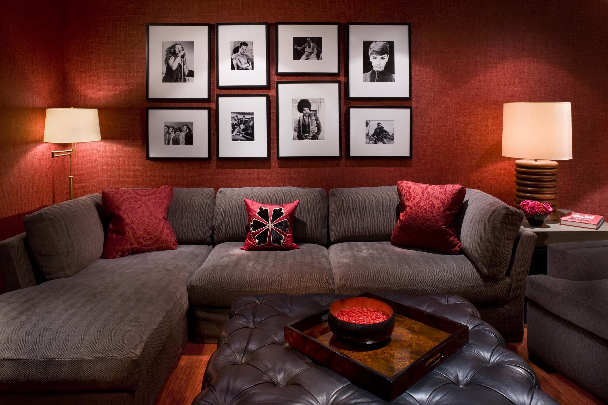 Brown Red Living Room Decorating Ideas Living Room Ideas Layjao