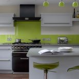 Cabinet Lime Green Kitchen Cabinets